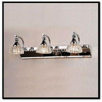 Stainless steel modern chrome moving led picture light wall lamp