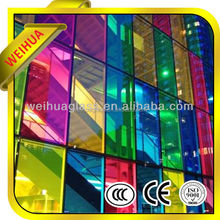 u value laminated glass tempered glass stained glass window decorations