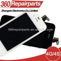 30pcs/lot Free Shippig Spare Parts For iPhone 4 Lcd Screen Display Cheap Price