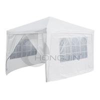 Hongjin 3 x 3m White Outdoor Commercial Gazebos Tent