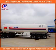 cooking gas tanker 25ton propane tanker trailer lpg tanker for sale