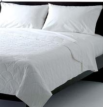 High Quality 200T Plain Cotton sateen Quilt bed cover/bed sheet aplic work MS-225