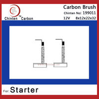 brush size 8x12x22x32 12V Carbon brush Spare parts supplier