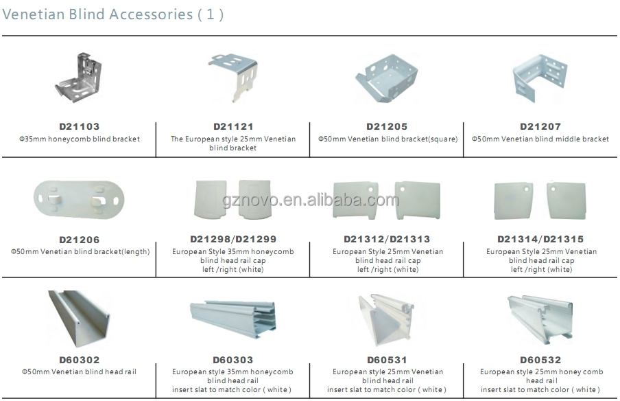 Wholesale Completed Venetian Blind Tilt Mechanism