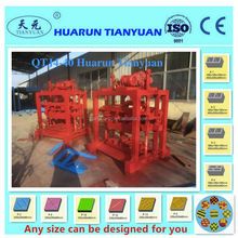 Hot selling QT4-40 small manual machine for making concrete block by hand