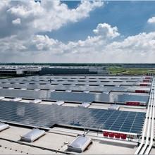 Hanergy Oerlikon solar pv power system with amorphous silicon module solar panel 50kw