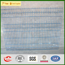Hot Selling !!! high quality powder coated china 3d folding garden welded curved mesh fence panel (ISO 9001)