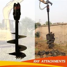 APAS - for diameter 300-1200 mm excavator attachment - earth drilling machine