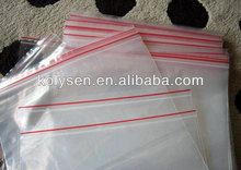 hot sale resealing clear PE zip lock bag durable for packing