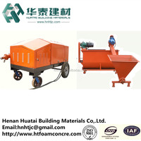 high quality cellular lightweight concrete machinery made in China HT-18-2