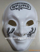 party face masks custom vintage halloween plain white plastic masks