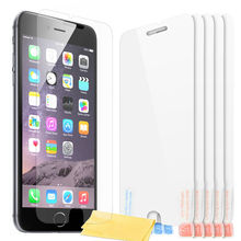 high clear anti-finger screen protector for apple iphone 6