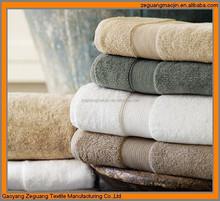 Comfortable Colorful Bath Towel Set , Hotel Customized Cotton Hand Towel / Bath Sheet