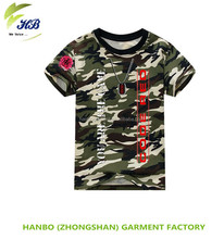 wholesale military camouflage t-shirt men custom camouflage t-shirt 100% Cotton/CVC knitting pique fabric for camouflage polo t