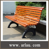 FW12 Hot Sale No Folding Bench Chairs in Cast Iron Chair Legs