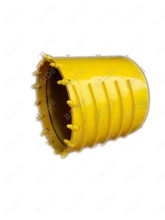 Rotary drill core barrel with claw bit for drilling