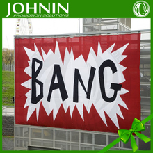 3D Custom Print Bang Flag For Advertising From Professional Factory