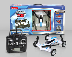 New Product 2.4G Wifi Headless RC Drone & Car 2 IN 1 VS X9 Quadcopter With Camera