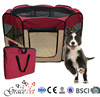 folding dog playpen / portable dog playpen