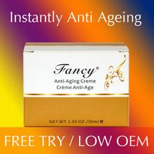 Bio active antienvejecimiento péptido, arrugas crema para la cara, reafirmante de colágeno fibrillas resurgimiento ( para tratamiento uso )