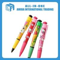 2015 high quality creative cute cartoon super ballpoint pen