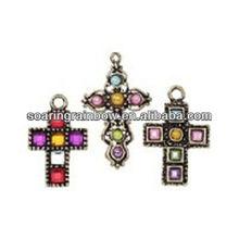 mini cross charms