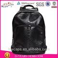 venta al por mayor de mochila de senderismo de lona y cuero/mochila tipo bolsa/ mochila escolar
