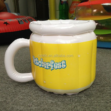 cup shape design inflatable ice cooler for beer promotion