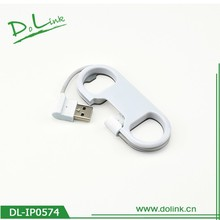 White Micro USB Charger Cable and Data Sync Cord Usb Laptop Self Charger Cable Fashion Keychain for Laptop