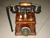 telephone headset adapter gsm telephone set antique wooden telephone stand