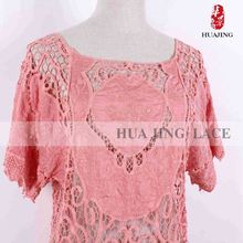 Clothing Accessories Custom Shape Printed Premium Quality Low Cost Ladies African Clothing Lace