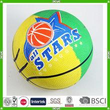 China promotional size 2 rubber basketball ball