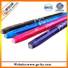 Eraser ink plastic stick bic pen with grip