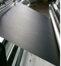 Soft Colorful PVC Sheets Black