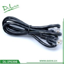 Factory Offer Promotional Ethernet Cable, Cheap Price Net Cable Dual Head