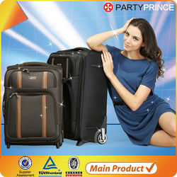 cheap custom made brand urban fabric luggage factory