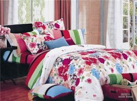100% Cotton modern luxury bedding set/bed sheet sets /duvet cover