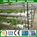 Hidroponía lana de roca para cultivo sin suelo sistema made in China