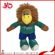 OEM customized Fabric plush lion toy