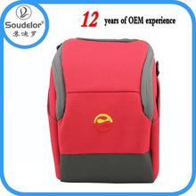 Hot sale high quality and professional nylon padding digital camera bag