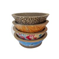 Hongjin Premium Bowl Style Corrugated Cardboard Cat Scratcher