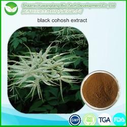 black cohosh extract Triterpene Glycosides ( Triterpenoid saponins )