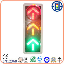 400mm red/yellow/green arrow led traffic
