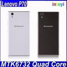New arrival Lenovo P70-t Smartphone 64bit MTK6732 quad core 2GB 16GB 5.0 Inch HD Screen 4000mAh Battery dual sim 4G cellphone