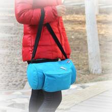 Travel Aluminum Foil Insulated Zipper Lunch Box Cool Bag Picnic shoulder bag