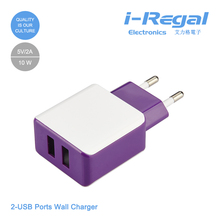 Made in china new fashion high quality dual usb wall charger 3.1a