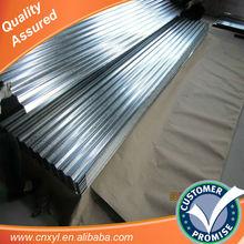 materiais de cobertura de chapas de zinco