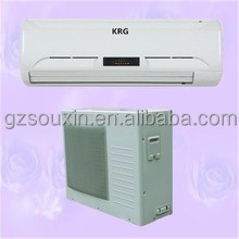 18000btu wall mount type air condiitoning with wireless remote control and 1% spare parts
