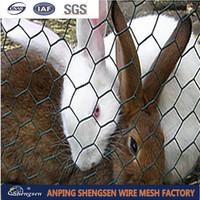 """1/4"""",3/4"""" Cheap Chicken Wire /Rabbit wire Mesh /Galvanized Hexagonal Wire Mesh"""