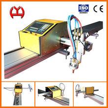 hot sale support 10 languages portable cnc plazma cutting machine